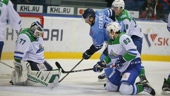 Сокрушительная победа после четырех поражений: «Салават Юлаев» обыграл братиславский «Слован»
