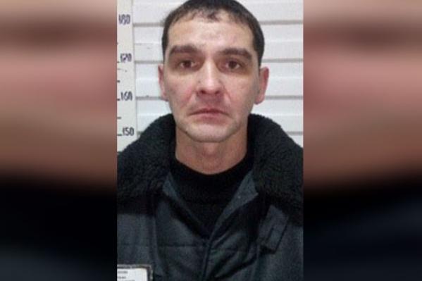 Фото сбежавшего заключенного