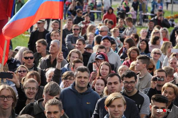 Активисты движения «Поморье — не помойка» объявили 22 сентября новой датой единого дня протеста