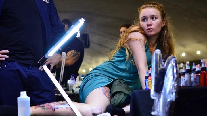 До боли красиво: откровенный репортаж с тату-фестиваля