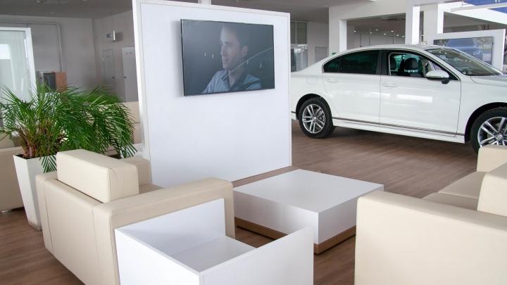 Как все устроено: первый в Волгограде диджитал шоу-рум Volkswagen откроет двери для журналистов