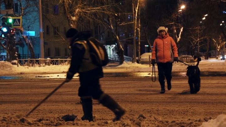 «День, которого нет»: в Перми сняли фильм, посвященный утру первого января