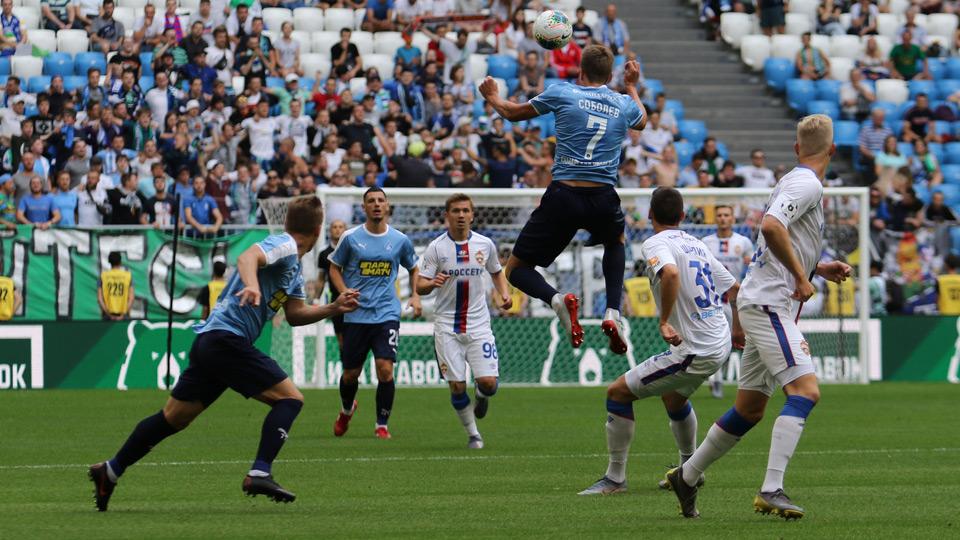 Александр Соболев стал настоящим героем этого матча
