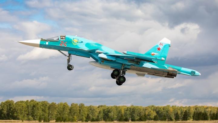 300 бомб на «террористов»: на Урале Су-34 подняли в небо для уничтожения противника