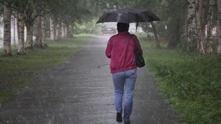 Завтра в Архангельск придут дождь и гроза