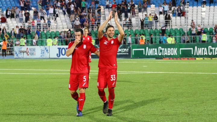 Футболисты «Уфы» обыграли «Зенит» и нанесли им первое поражение в сезоне