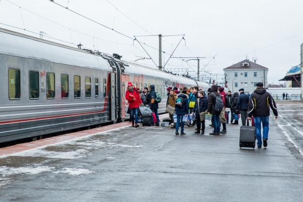 Чтобы все желающие смогли отправиться в путь, появятся дополнительные поезда