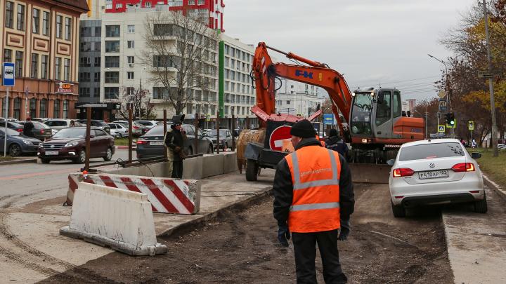 В уфимской мэрии объяснили, что планируют сделать с улицей Комсомольской