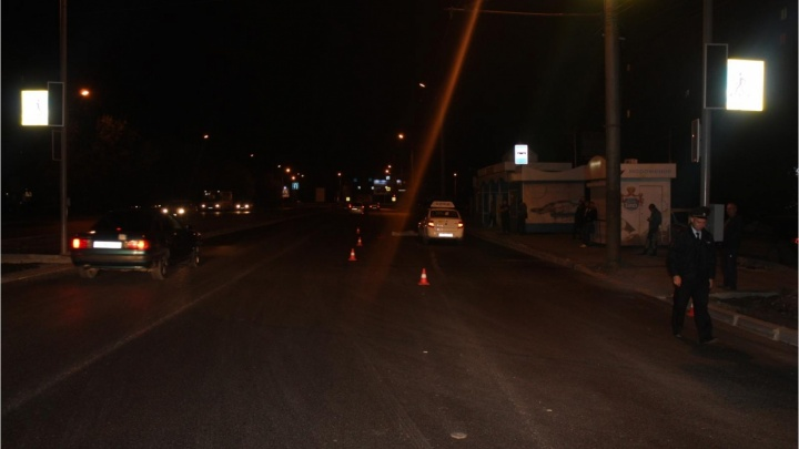 В Кургане опасный пешеходный переход «передвинули» к светофору
