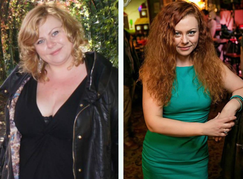 Истории девушек похудения