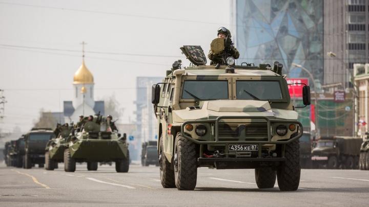 Новосибирск перекроют с утра: город ждут репетиции Парада Победы