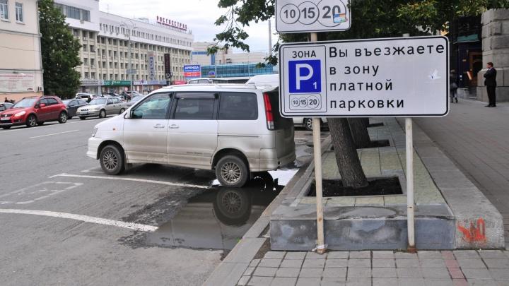 В Екатеринбурге в ближайшие 7 лет обустроят 5 тысяч платных парковочных мест