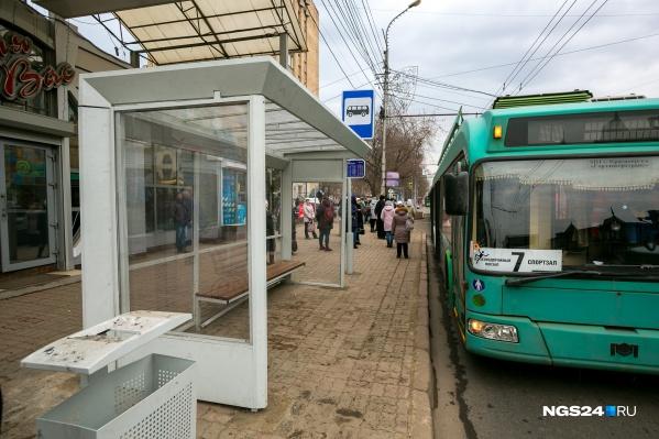 Новый троллейбус будет оснащён дверьми с функцией противозащемления пассажиров