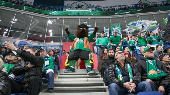 Уфимские хоккеисты одолели рижское «Динамо»