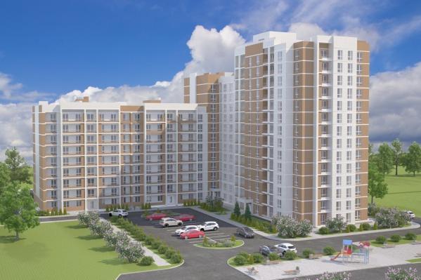 Новый жилой дом строится в Дзержинском районе Волгограда