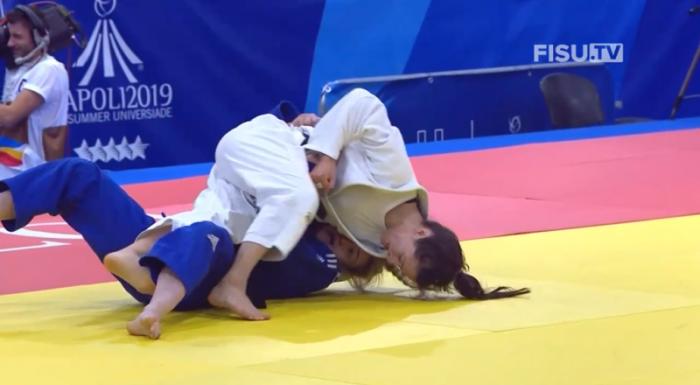 Наталья Голомидова последовательно взяла верх над американкой Эбрахим, хорваткой Шикич и спортсменкой из Тайбэя Хсю