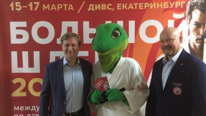 «Уральский пельмень» Андрей Рожков стал послом международного турнира по дзюдо