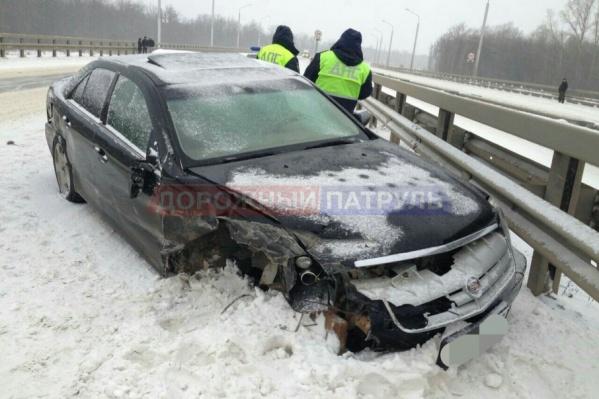 Оторвало колесо: водитель из Москвы едва не погиб на заснеженной башкирской трассе