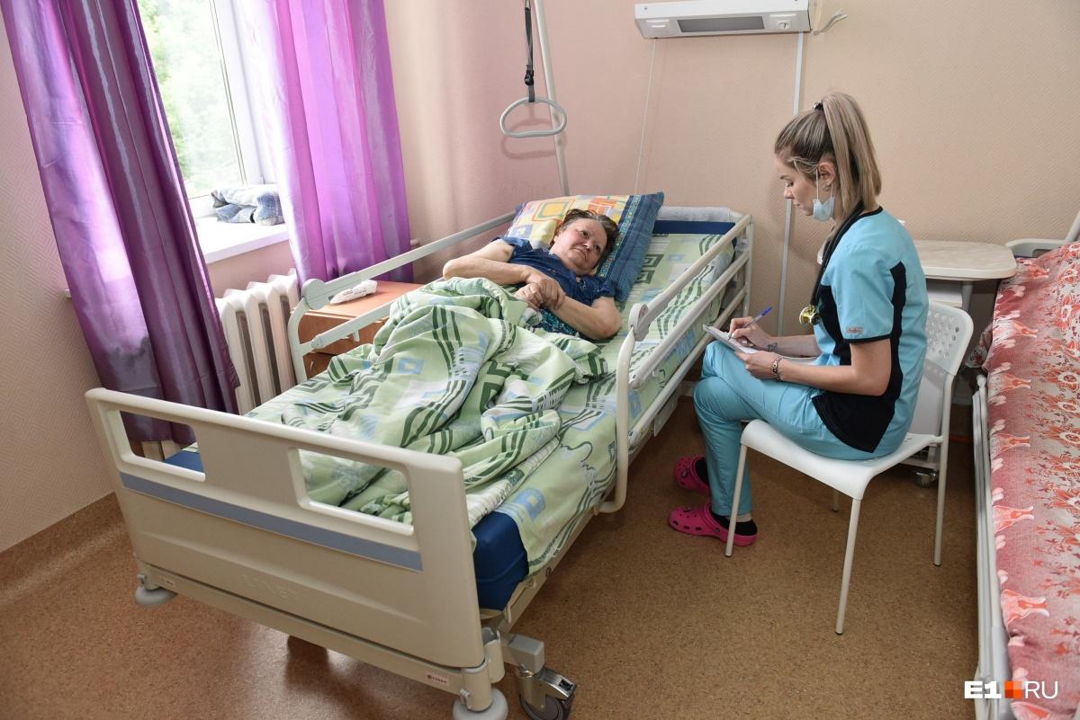 Рабочий день начинается с обхода пациентов