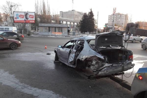 В машине, помимо водителя, находилась 48 летняя пассажирка