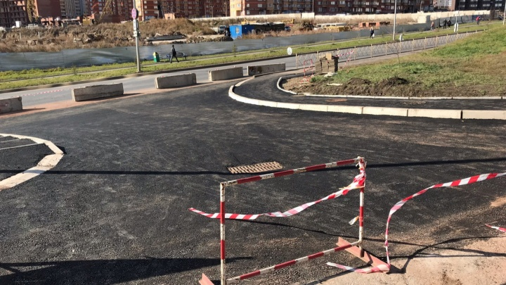 Строители доделали дорогу в 3-й микрорайон Солнечного