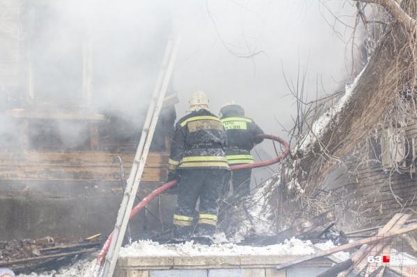 Особенно пожароопасными считают деревянные дома