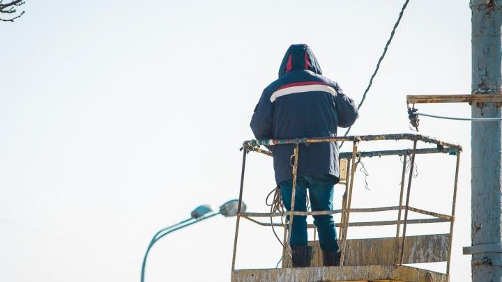 Девять тысяч ростовчан остались без света: крупную аварию устраняют сотрудники электросети
