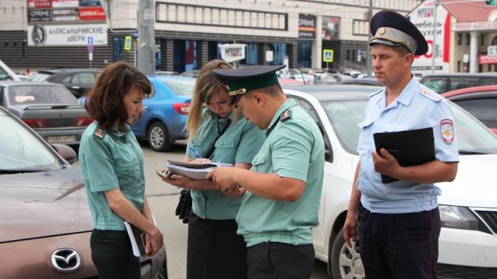 «Лондон, гудбай»: челябинские приставы арестовали «крузак» у автомобилиста с необычным именем