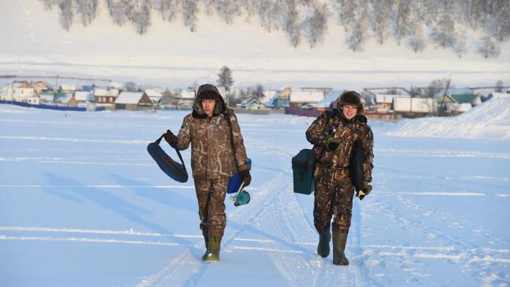 Без клева не клево: уфимский рыболов поделился секретами и хитростями зимней рыбалки
