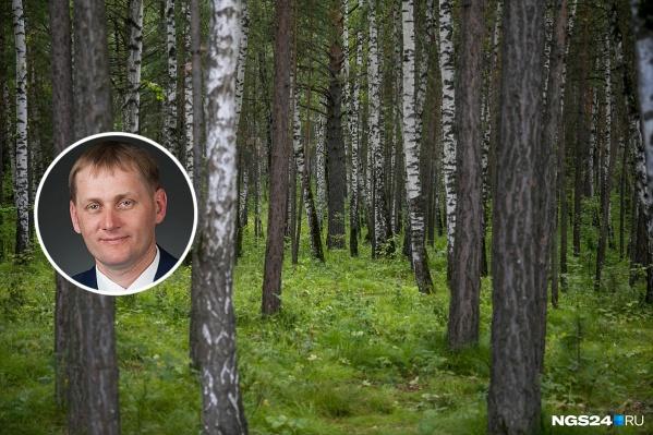 Игорь Трикман руководил лесничествами около 10 лет