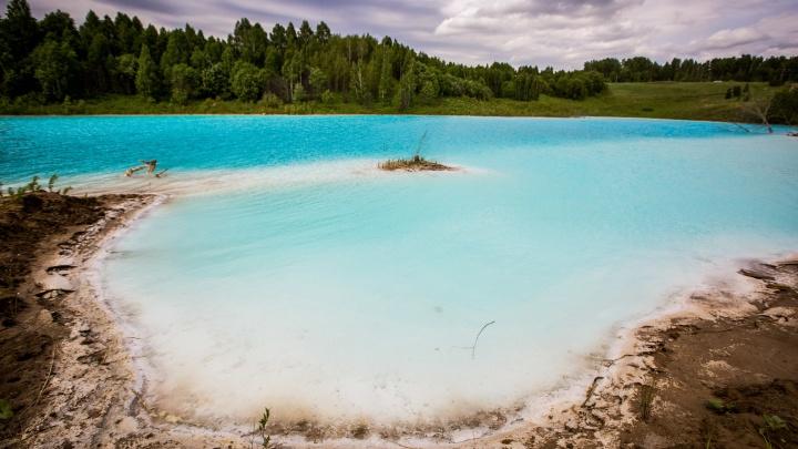 «Воображаемое тропическое блаженство»: о голубом озере за ТЭЦ-5 пишут зарубежные СМИ. Мы знамениты!