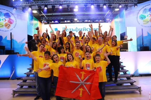 Дельфийские игры проходят в Ростове с 19 по 24 апреля