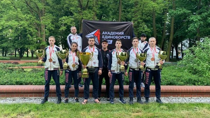 Екатеринбуржцы завоевали шесть медалей на Кубке Европы по карате-кекусинкай