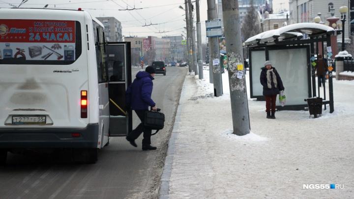 Маршрутка № 225 с субботы начнёт ездить до омского аэропорта