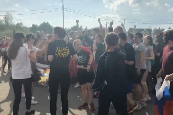 Фанаты из Екатеринбурга