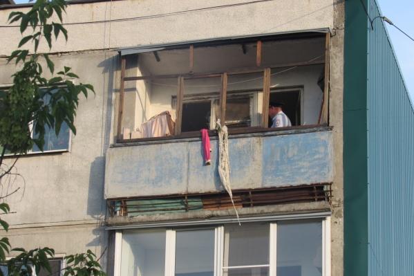 Возгорание произошло на пятом этаже