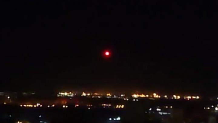 «Это был НЛО?!»: в небе над Самарой сняли странный светящийся шар