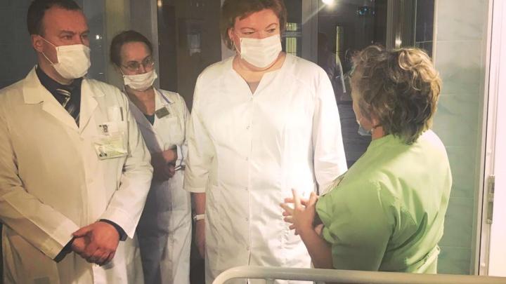 Глава Минздрава Прикамья проверила детскую больницу, в которой нашли клопов и тараканов