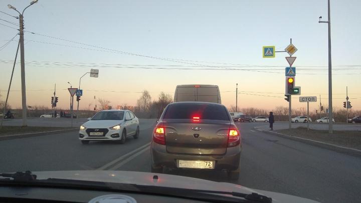 Тюменские автомобилисты скрываются от камер, стирая краску с госномеров