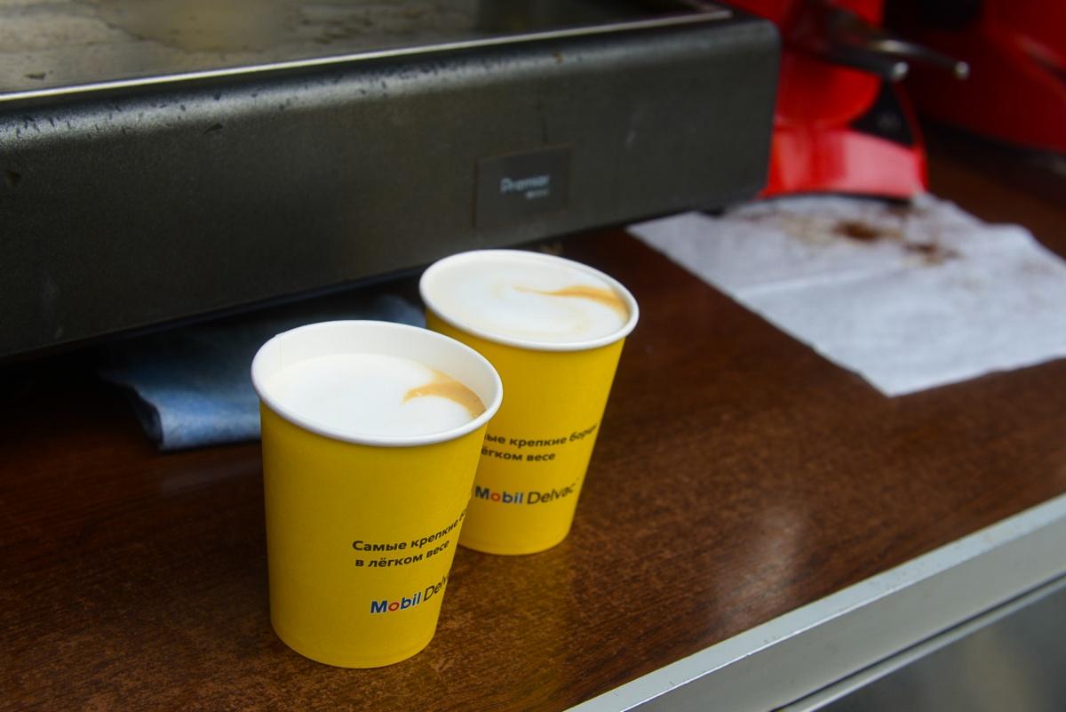 В ходе акции кофе и чаем в Екатеринбурге угостили более 400 водителей