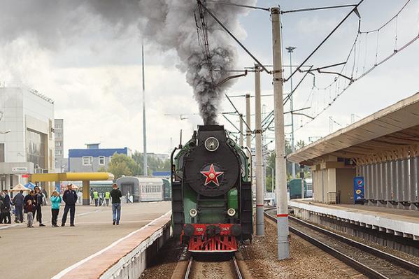 Поезд проведёт гастроли по шести станциям: от Коноши до Архангельска