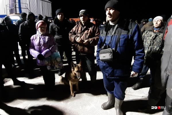 Ночная вылазка — ответ на провокации со стороны охранного предприятия