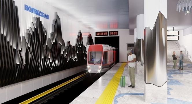 Горы, реки и деревья: в Самаре предложили построить необычную станцию метро