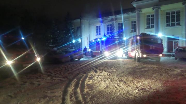 На Уктусе в старом административном здании сгорела круглосуточная сауна
