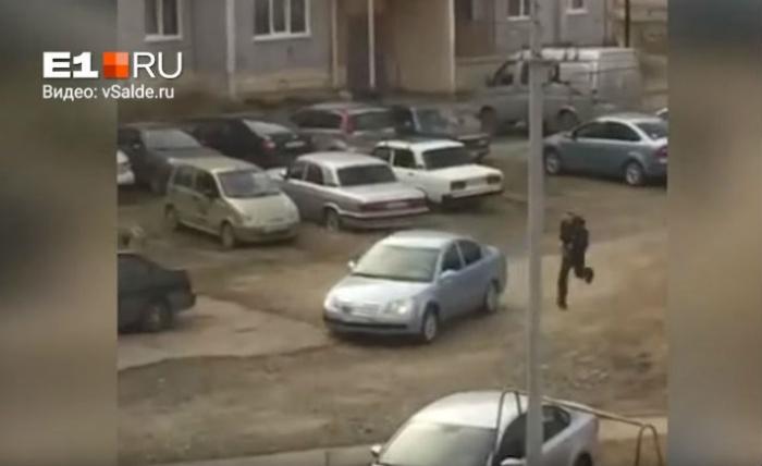 Водитель Chery не останавливался по требованию полицейских