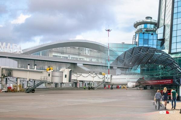 Сейчас до аэропорта можно добраться только на автобусе или такси