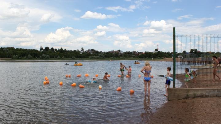 В мэрии Уфы рассказали о спуске воды в озере Кашкадан