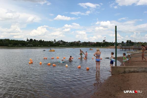 Озеро — главная точка притяжения жителей микрорайона Сипайлово