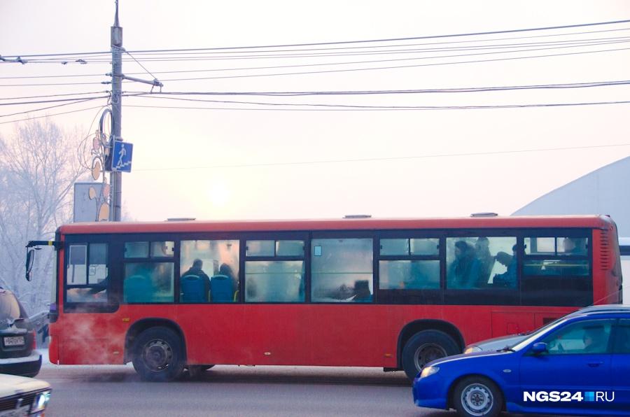 ВКрасноярске поменяются схемы движения 2-х автобусных маршрутов