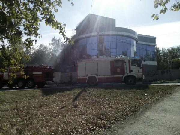 Пожар произошёл днём в пятницу